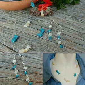 Southwestern Illusion Necklace & Earring Set